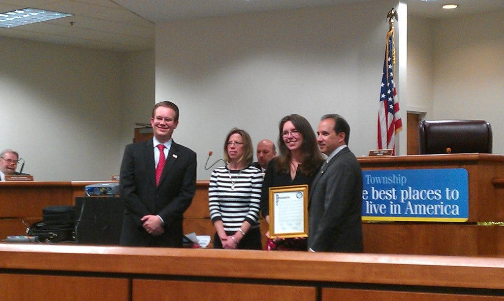 Township Proclamations Honor Health-Conscious Groups