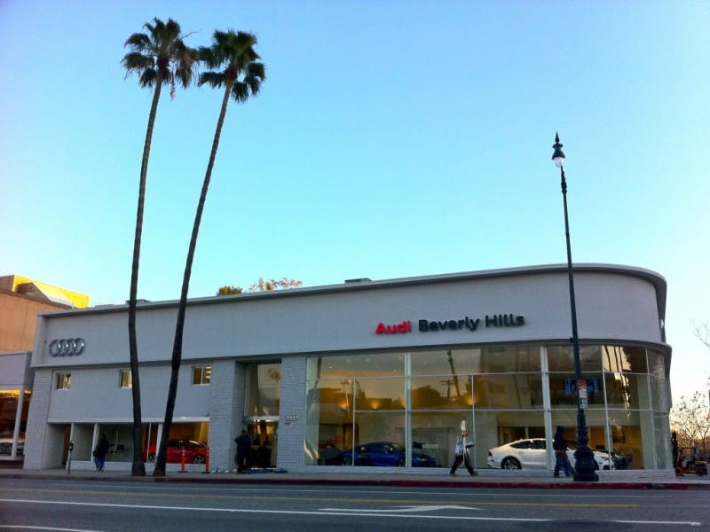 Audi Beverly Hills To Donate To BHEF Beverly Hills CA Patch - Audi beverly hills