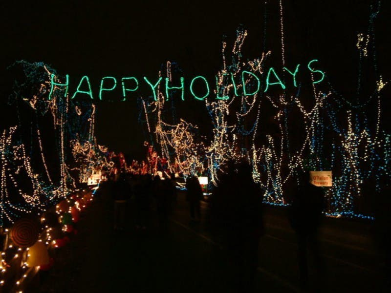 Stroll Through Holiday Lights in Fort Zumwalt Park - Stroll Through Holiday Lights In Fort Zumwalt Park O'Fallon, MO Patch
