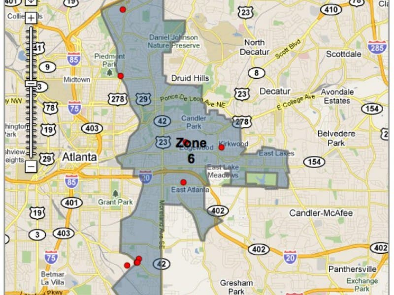 Atlanta Police Department Zone 6 Beat Redesign Meeting Scheduled For