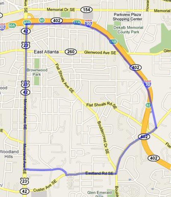 East Atlanta Crime Report: Jan  1 through Jan  7   East