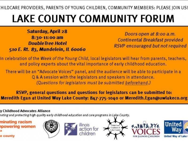 Lake County Legislative Forum For Early Childhood Education