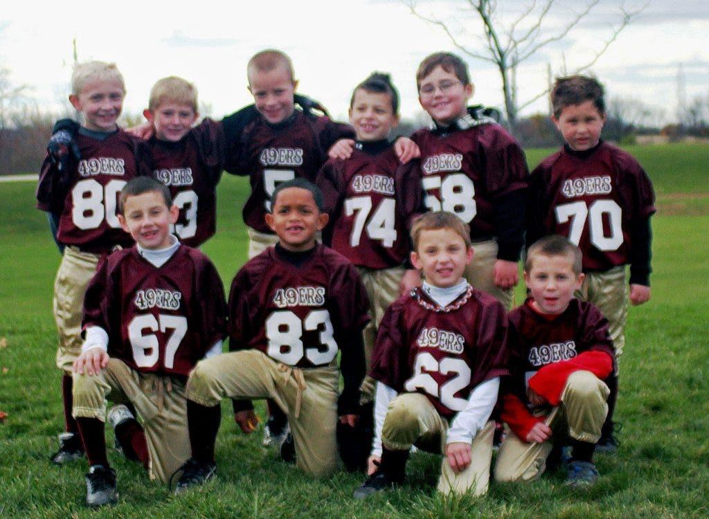 70f0dfb1 Whiz Kids: San Francisco 49ers Bronze Division Flag Football Team ...