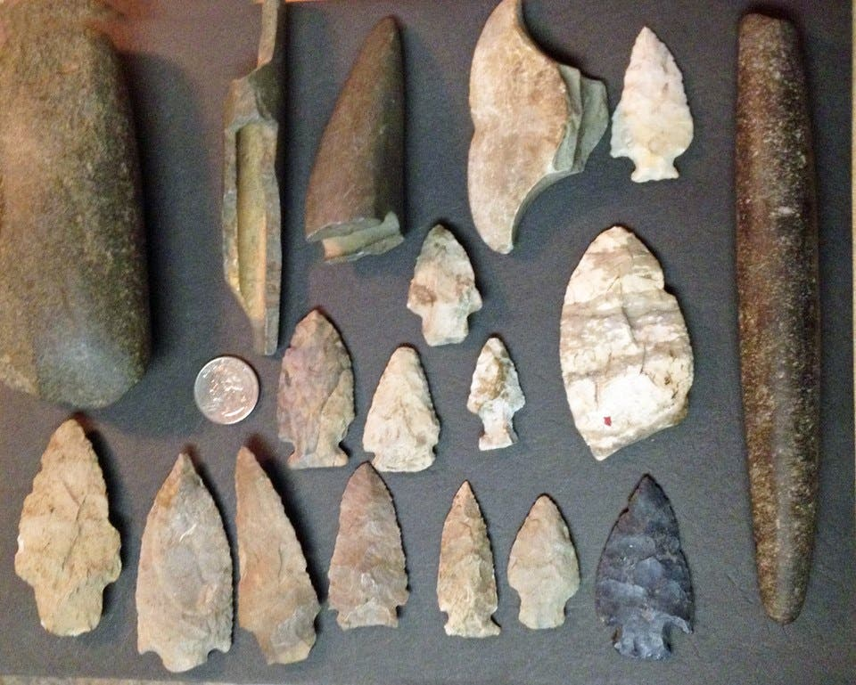 dating indian arrowheads