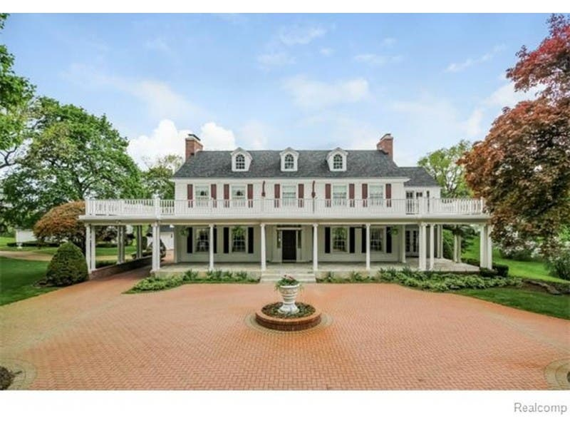 Michigan Wow Houses Former Cadillac Dealer Don Massey S
