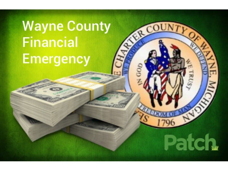 Wayne County Chooses Consent Agreement To Resolve Financial