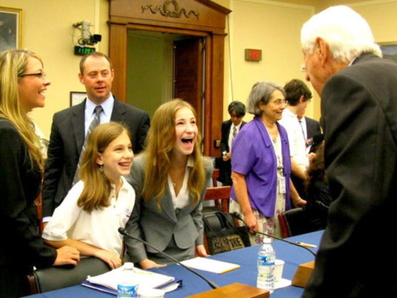 whiz kids west hills students honored in washington d c west