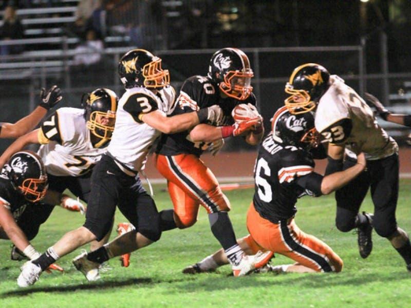 Football Los Gatos Wildcats Vs Palo Alto Vikings Los Gatos Ca
