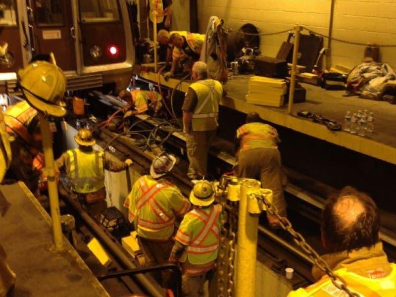 Metro Worker Struck By Train At Shady Grove Rail Yard