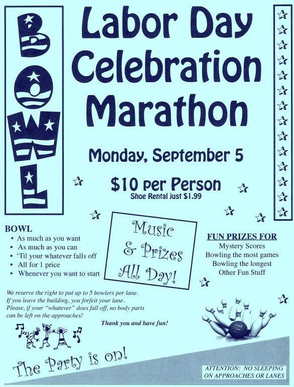Woodhaven Lanes Holds Labor Day Celebration Marathon