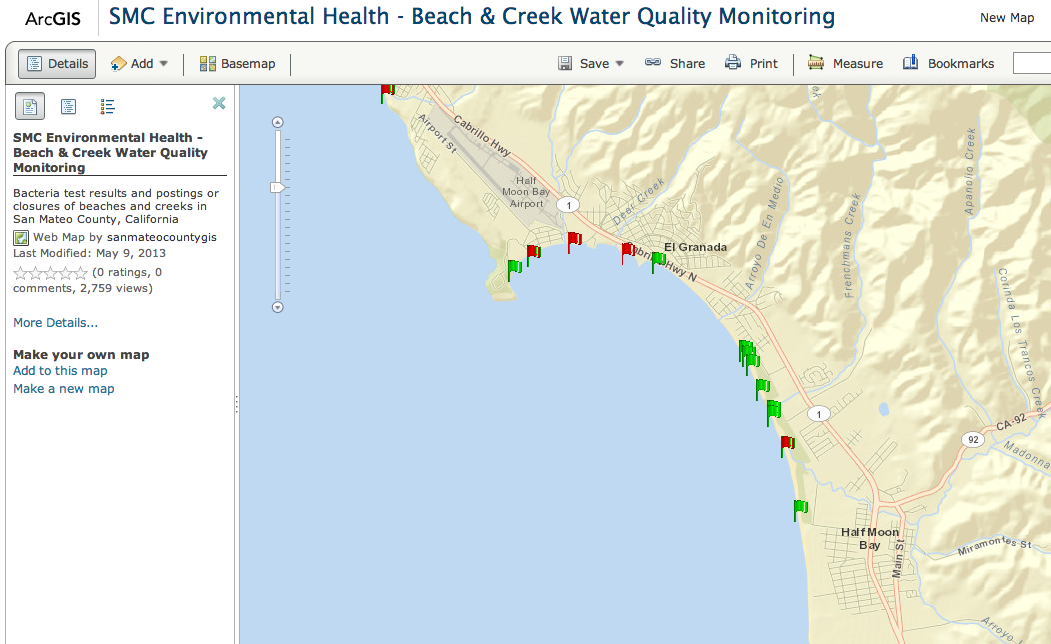 Unhealthy Bacteria Levels Discovered at Area Beaches | Half