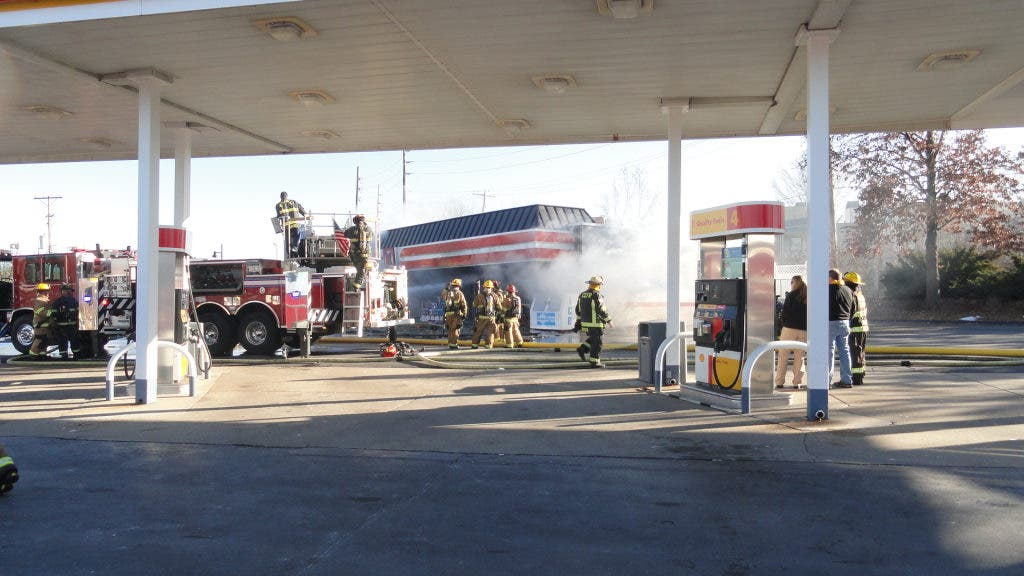 Circle K Gas Station Destroyed By Fire | St  Peters, MO Patch