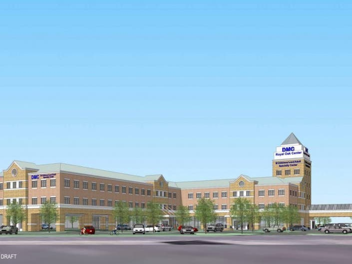 UPDATE: DMC to Present Concept for $50 Million Outpatient Facility