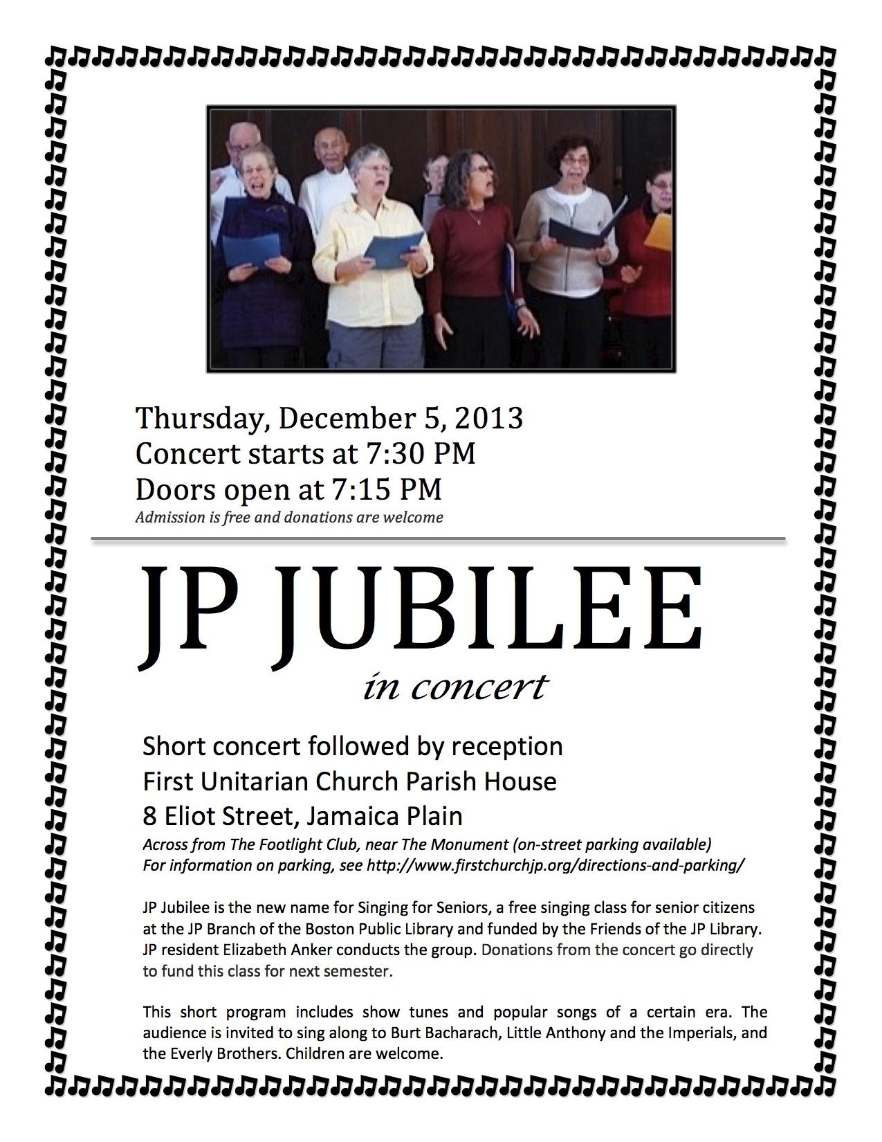 JP Jubilee Concert | Jamaica Plain, MA Patch
