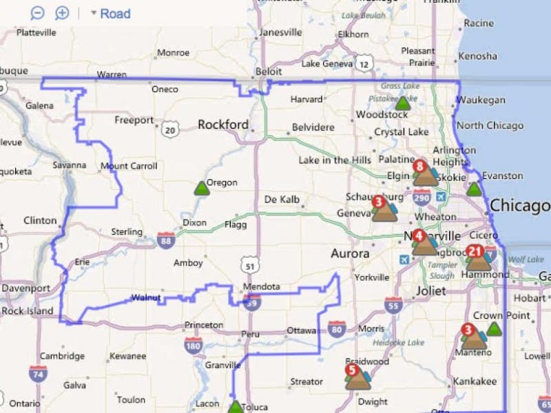 App, Online Map Help ComEd Customers Track Outages | Lisle, IL Patch