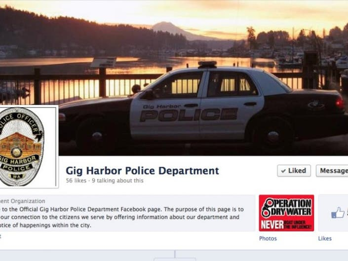 GHPD Now on Facebook, Twitter   Gig Harbor, WA Patch