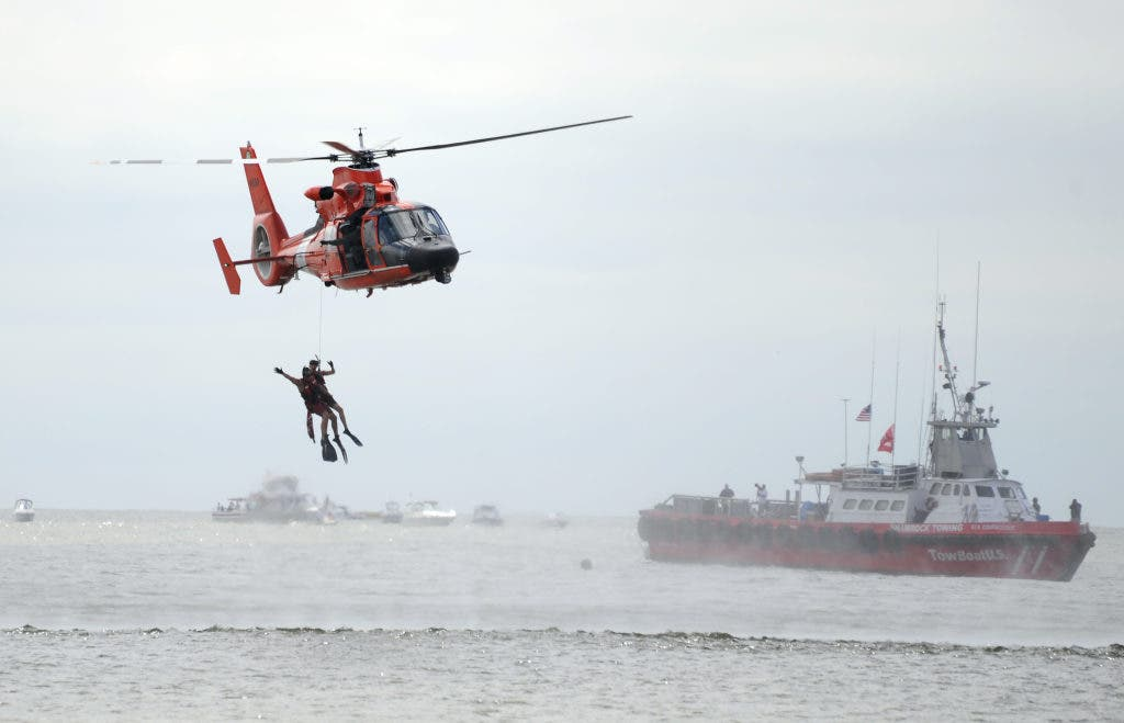 Local Coast Guard Helicopter Fleet Gets Upgrades | Point