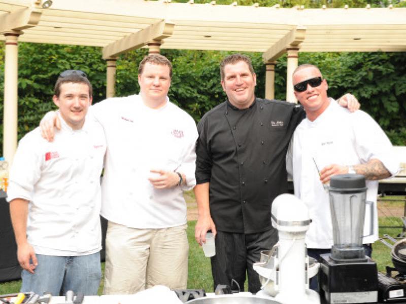 Will Local Chefs, Tebucky Jones, Kevin Negandhi and Joe Zone