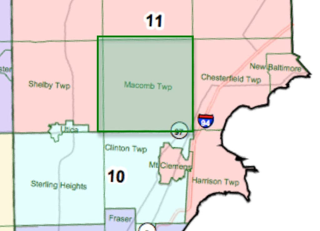 Senate GOP Redistricting Map Changes Macomb Representation ... on wiu campus map, florida southern college campus map, oakland university mi campus map, western illinois campus map, henry ford community college campus map, mott community college campus map, south davis recreation center map, wayne state university campus map, macomb community college degree, nova cc medical campus map,