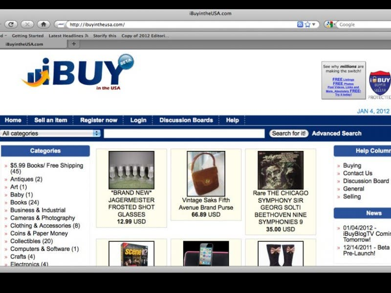 baby auction website