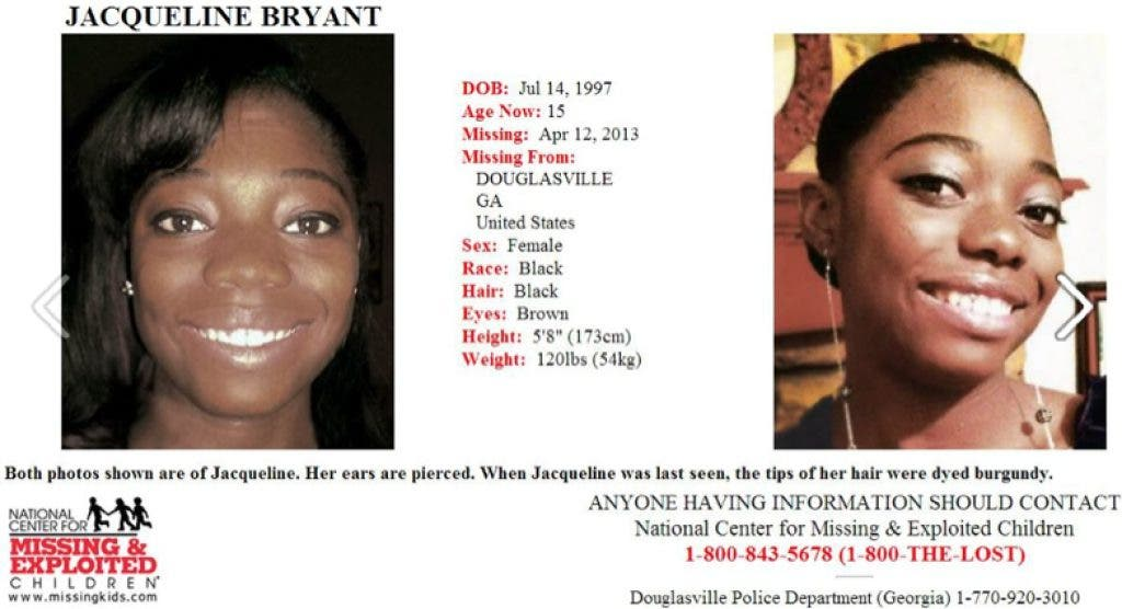 15-Year-Old Reported Missing | Douglasville, GA Patch