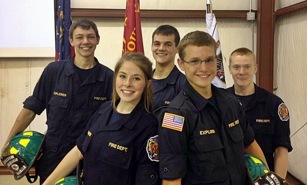 Cherokee Promotes 5 Fire Explorers | Woodstock, GA Patch