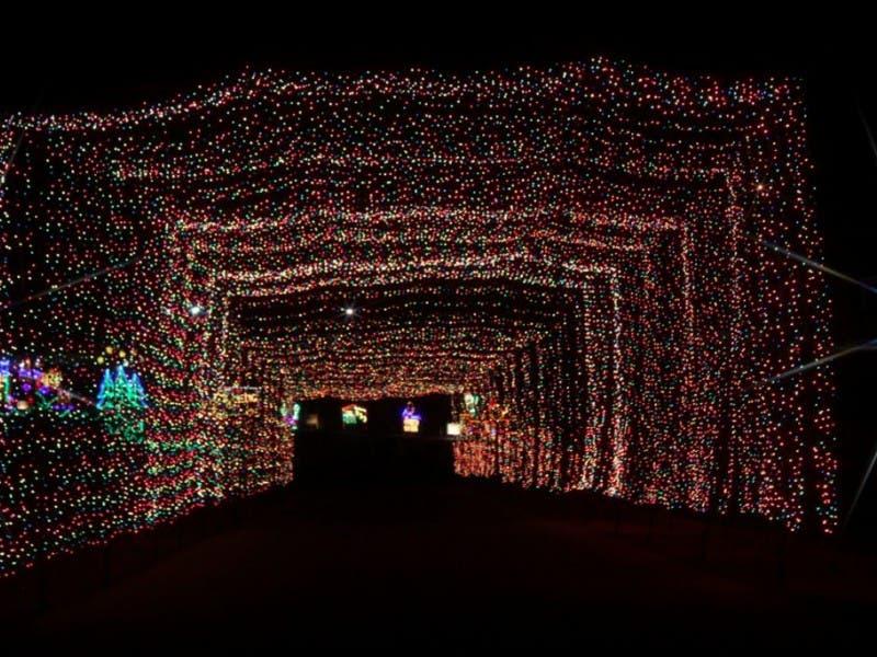 Lights at Atlanta Motor Speedway