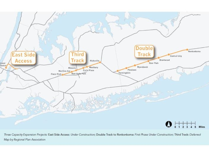 Report: $10B LIRR Expansion Could Help LI Economy   Mineola, NY Patch