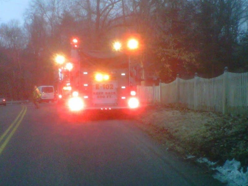 Firefighters Put Out Chimney Fire On Jockey Hollow Road Monroe Ct
