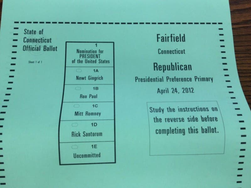 Fairfield Guide To State Gop Primary Fairfield Ct Patch
