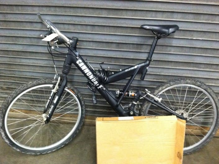 Cannondale Bike Found, Contact Fairfield Police | Fairfield