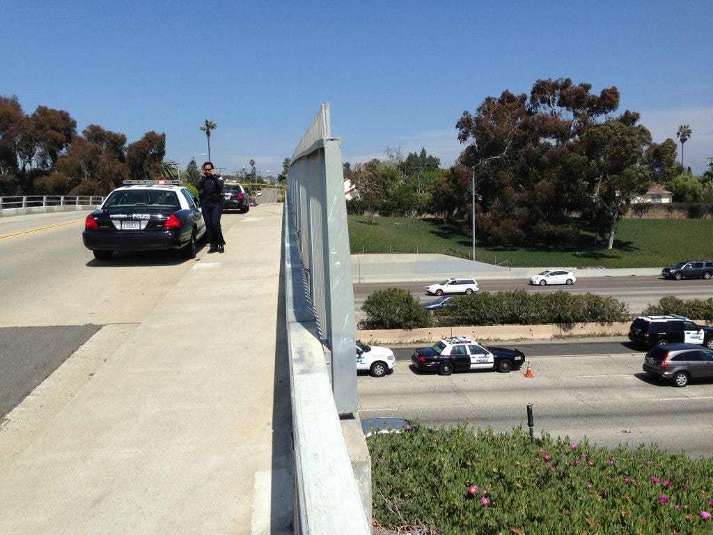 Chp Person Jumps Off Interstate 5 Bridge In Oceanside