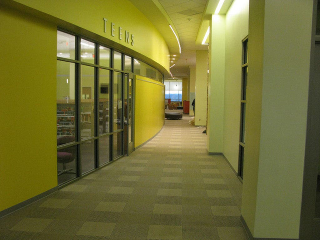 Gum Spring Library >> Chantilly S New Gum Spring Library To Hold Grand Opening