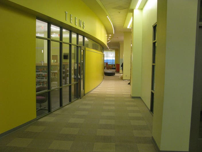 Gum Spring Library >> Chantilly S New Gum Spring Library To Hold Grand Opening Next