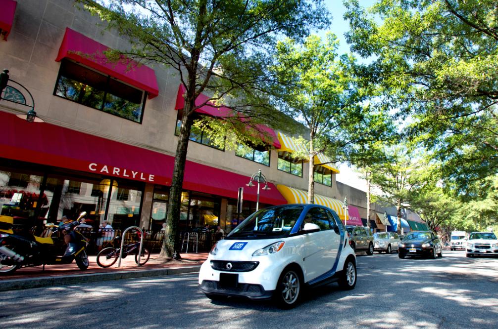 New Car Sharing Service Starts In September In Arlington