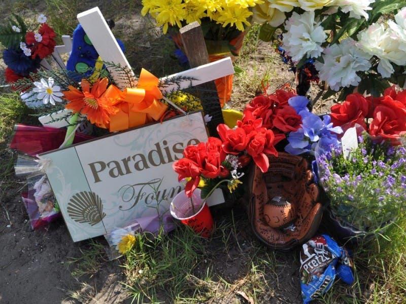 Teen memorial sites