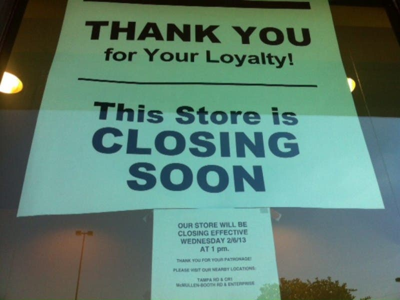 Sweetbay In Palm Harbor To Close Wednesday Palm Harbor Fl Patch
