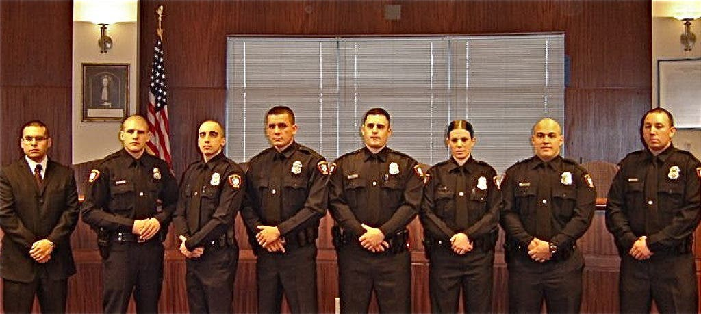 New Police Officers And Recruits Join The Woodbridge Pd Woodbridge Nj Patch
