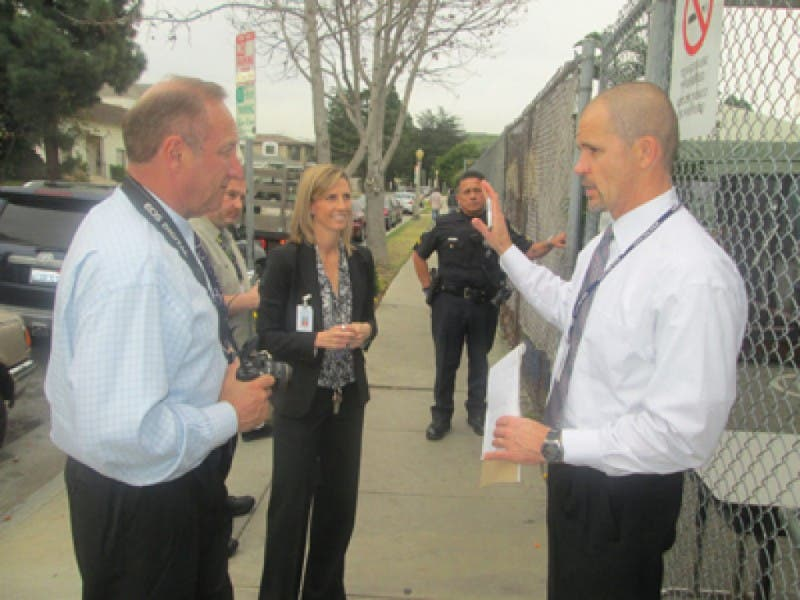 Ccusd Officials Walk The Safety Walk Culver City Ca Patch