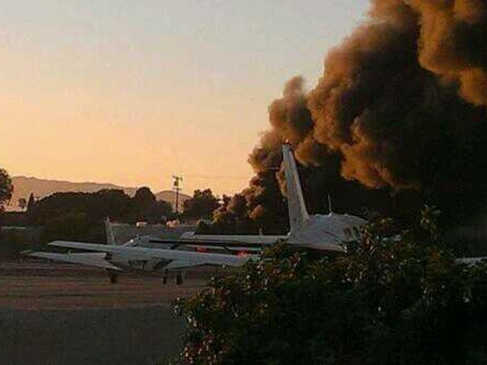 Eyewitness: Sound of Plane Crash Like 'Dropping a Dumpster but 10