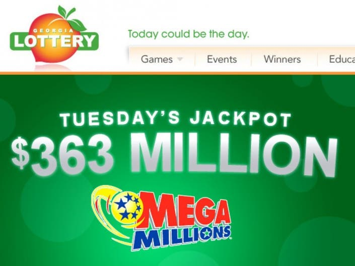 Mega Millions Lottery At 363 Million Stone Mountain Ga Patch