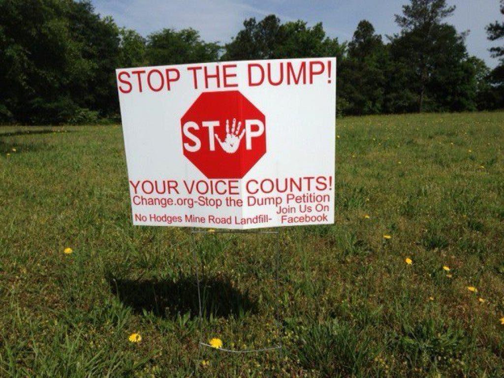 Hodges Mine Landfill Opponents Seek Restraining Order