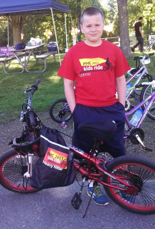 11-Year-Old Stoughton Boy Helping Raise Money for Cancer Through PMC
