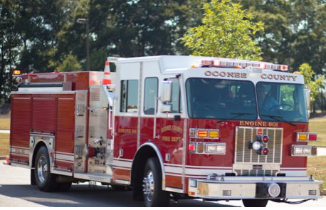 News from Oconee County Fire Rescue: Ruptured Natural Gas