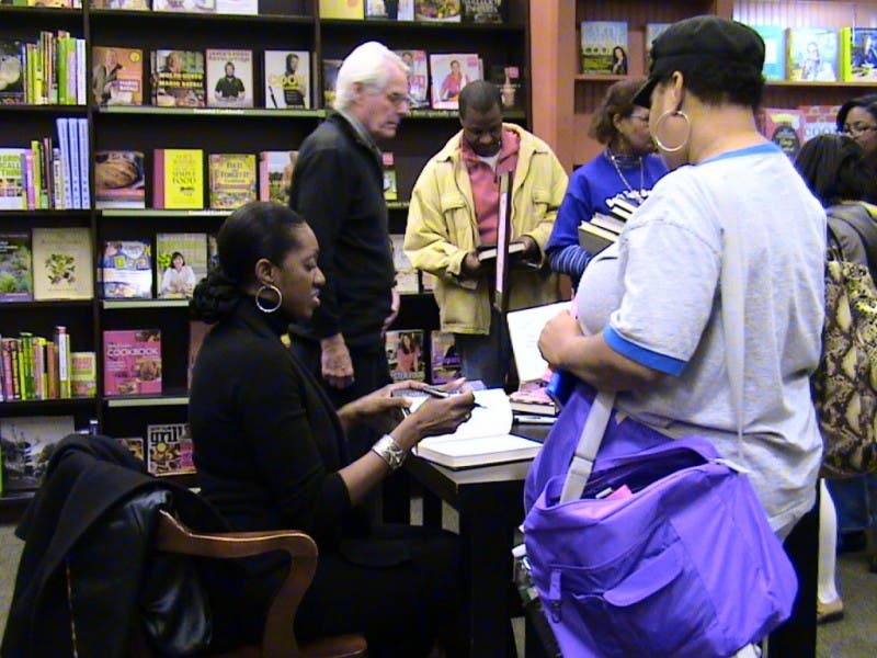 Cascade Crowd Leaves Standing Room Only At Book Signing For Author