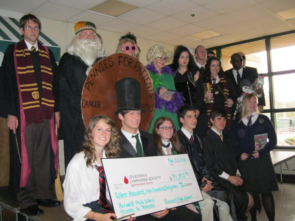 Roswell Students Raise Money to Fight Leukemia | Roswell, GA