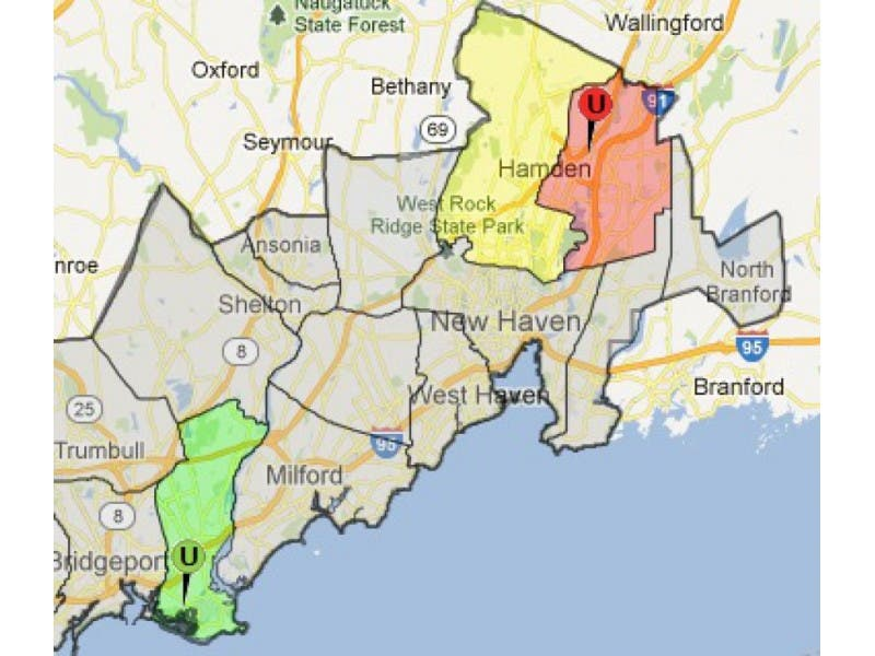 Ct Power Outage Map Ui.Storm Knocks Out Power In North Haven North Haven Ct Patch
