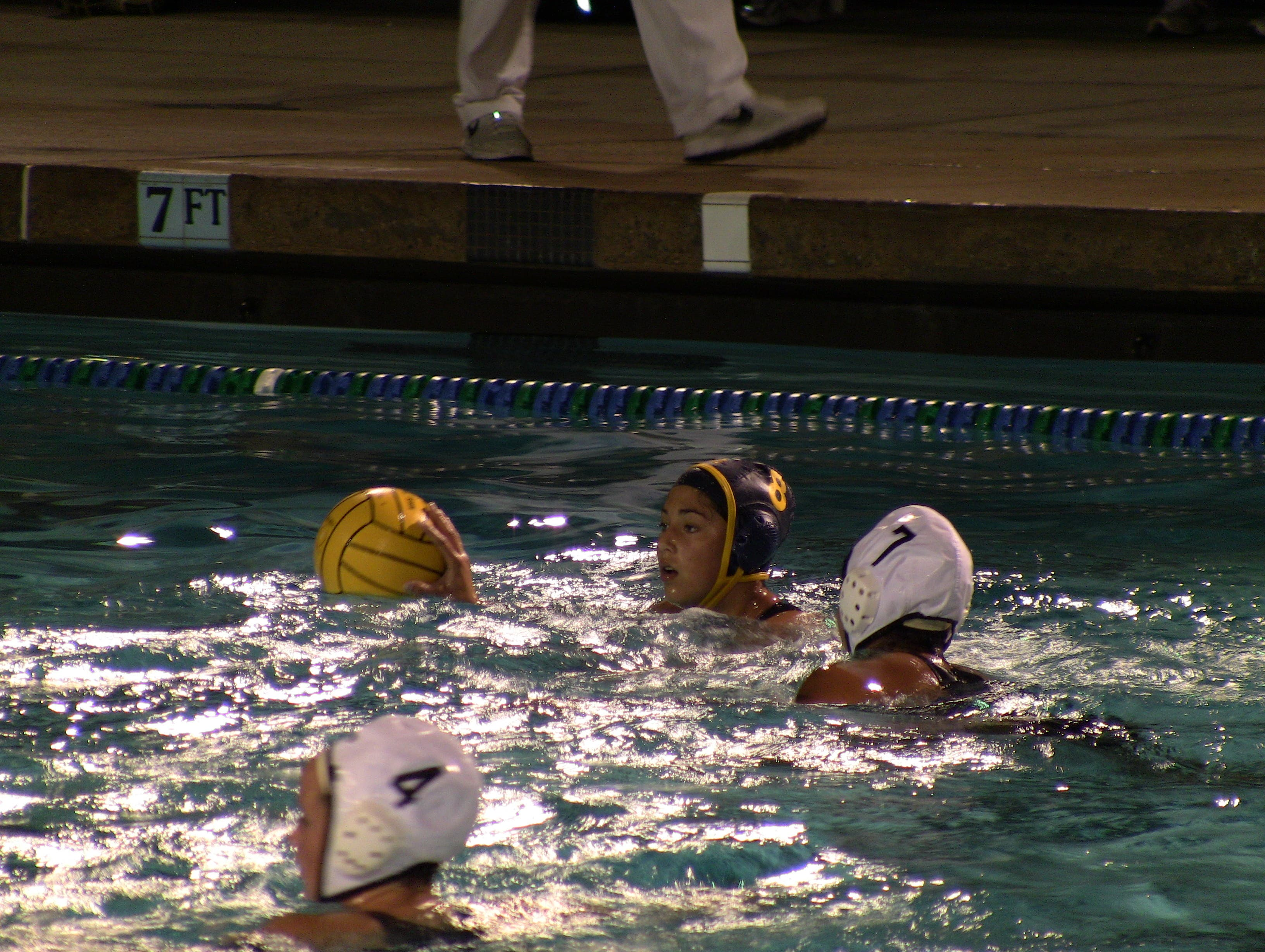 Los Altos girls water polo team gets defensive in 10-3 ... |Mountain View Water Polo