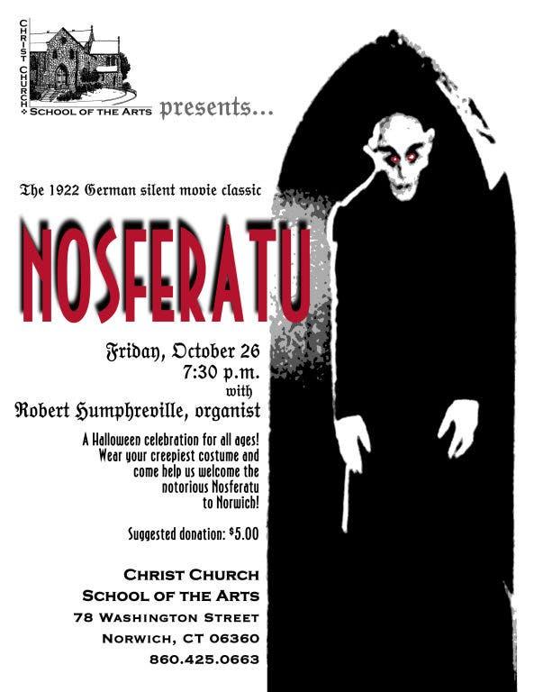 Nosferatu! Silent Movie Night Spooktacular! | New London, CT Patch