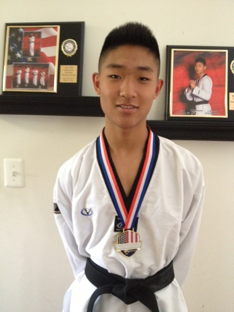 1a904cc27b1c6 Fairfax Teen Wins Gold Medal in Taekwondo, Begins Training With Olympic  Coaches